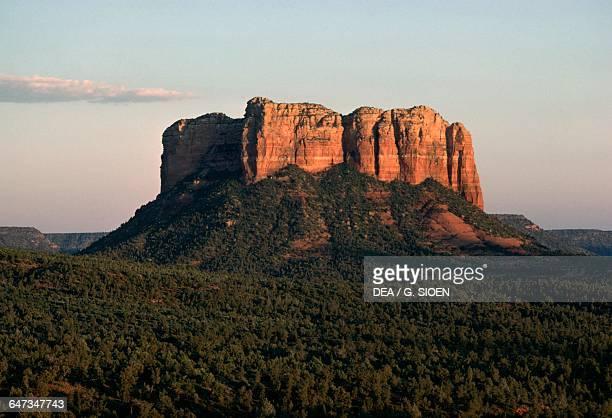 Red Rock Oak Creek Canyon near Sedona Arizona United States of America