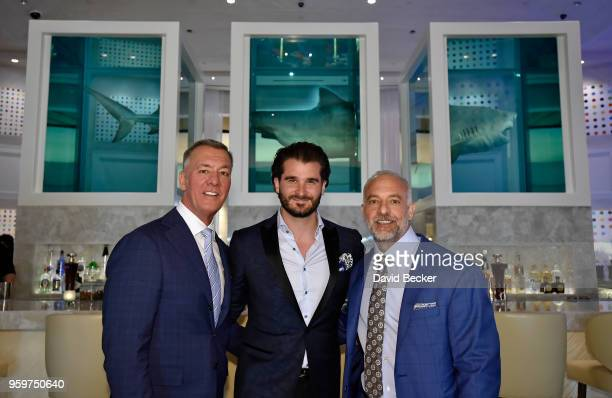 Red Rock Resorts CoFounder Frank Fertitta Palms Casino Resort Vice President and General Manager Jon Gray and Red Rock Resorts CoFounder Lorenzo...