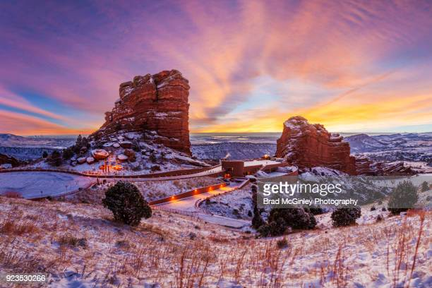 Red Rocks Sunrise