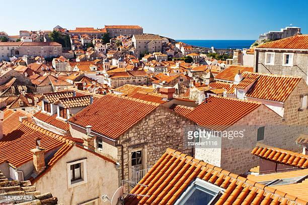 Red Roofs Of Dubrovnik, Croatia