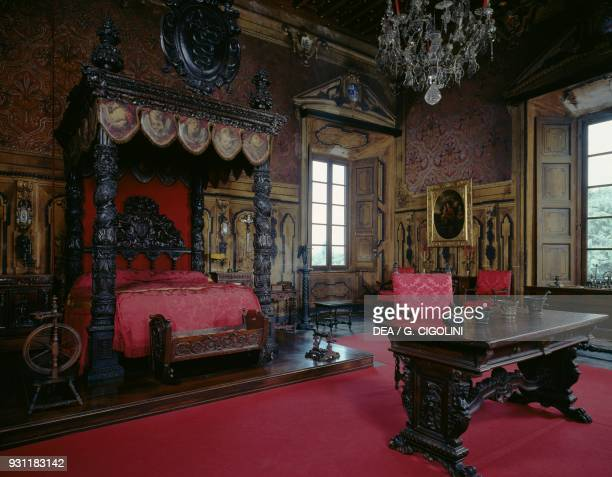 Castle Bedroom Stock Photos And Pictures