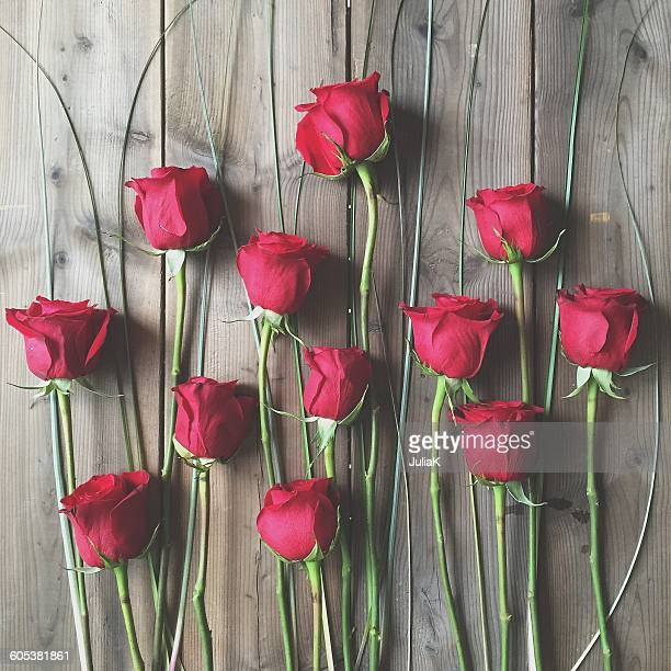 red roses and glass - julia rose stock photos and pictures