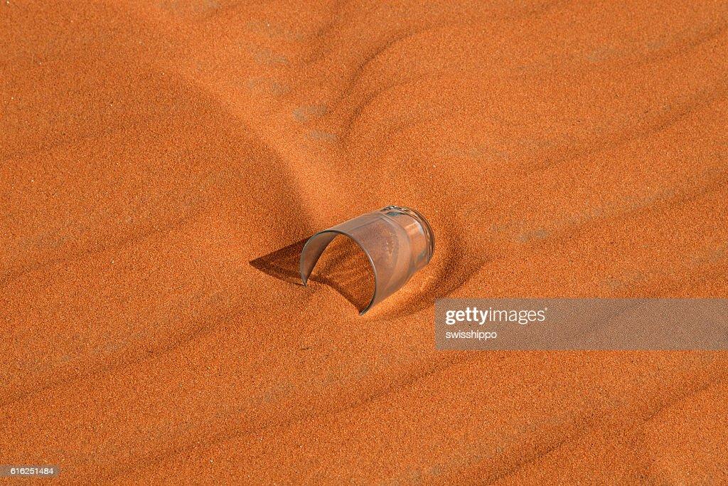 Roja del desierto de arena  : Foto de stock