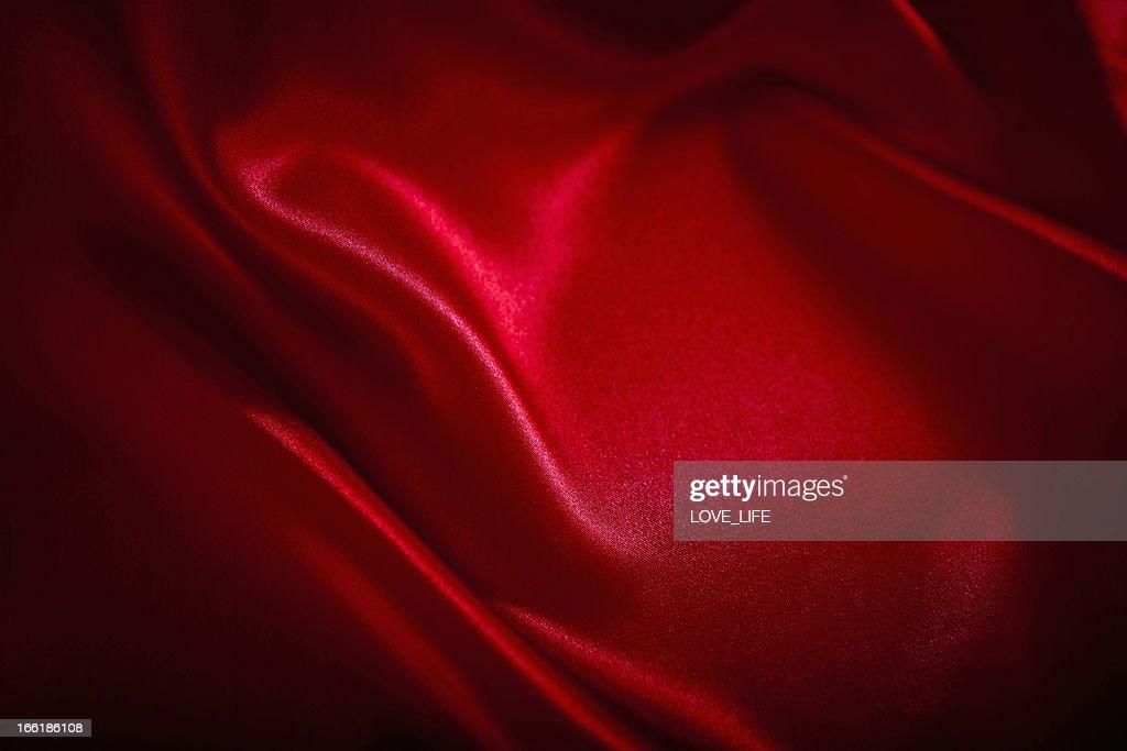 Rote Satin Hintergrund : Stock-Foto