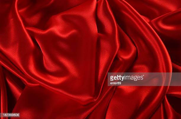fondo de satén rojo - satén fotografías e imágenes de stock