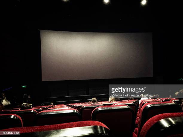 Red Seats In Movie Theatre
