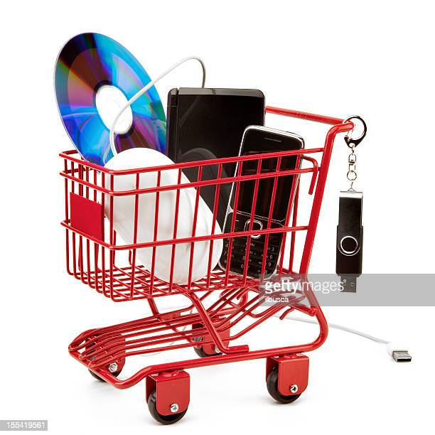 Red shopping cart series: Electronic Products