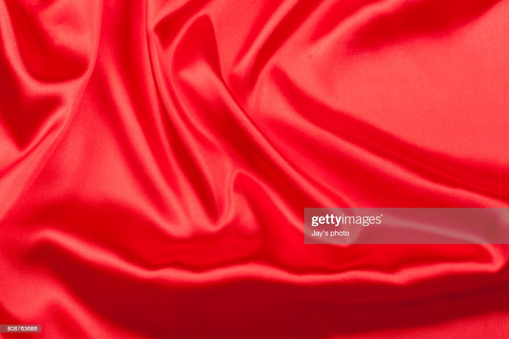 Red Silk Texture : Stock-Foto