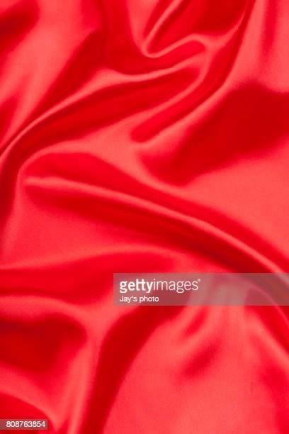 red silk texture - satin ストックフォトと画像