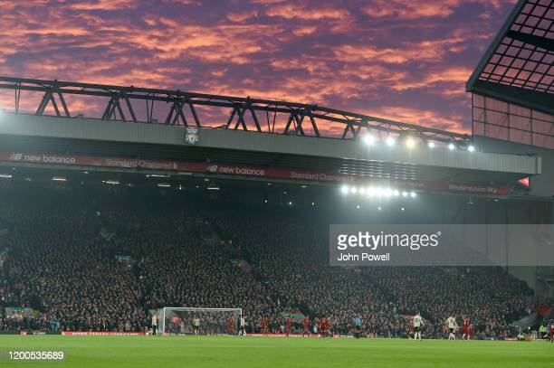 176 Anfield Sky Photos And Premium High Res Pictures Getty Images