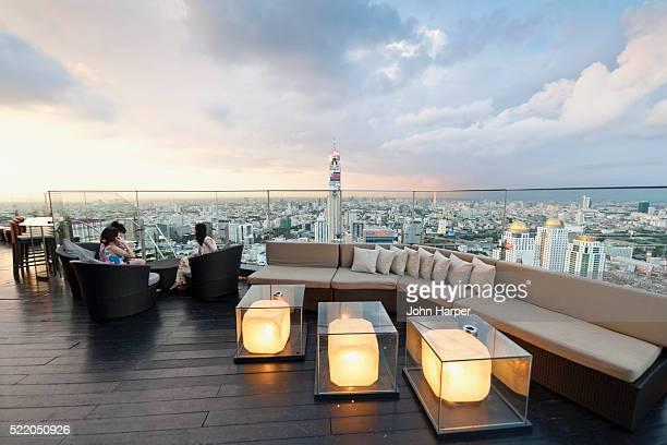 Red Sky Bar at Centara Grand Hotel, Bangkok, Thailand