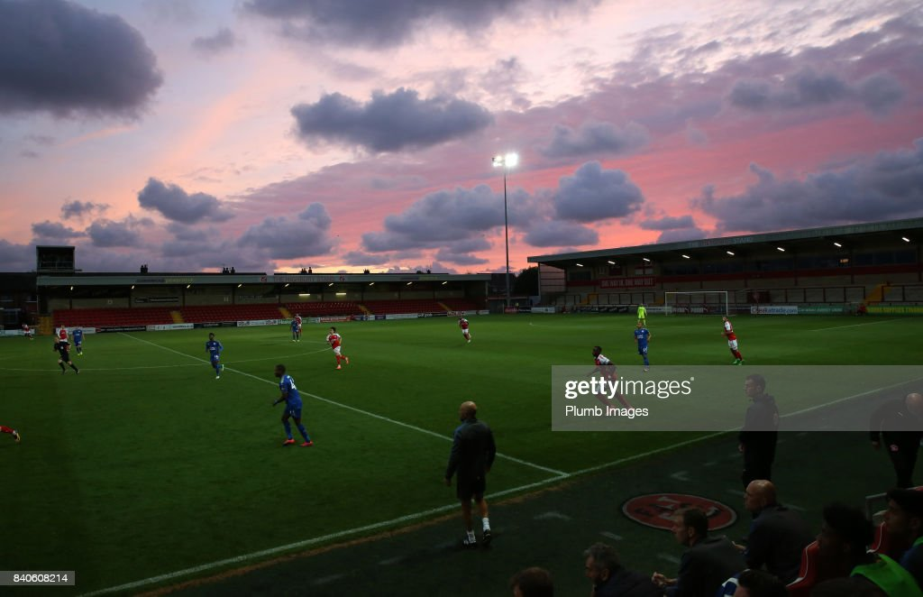 Fleetwood Town v Leicester City U23s - Checkatrade Trophy : News Photo