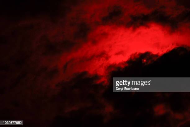 red sky - hell stock pictures, royalty-free photos & images