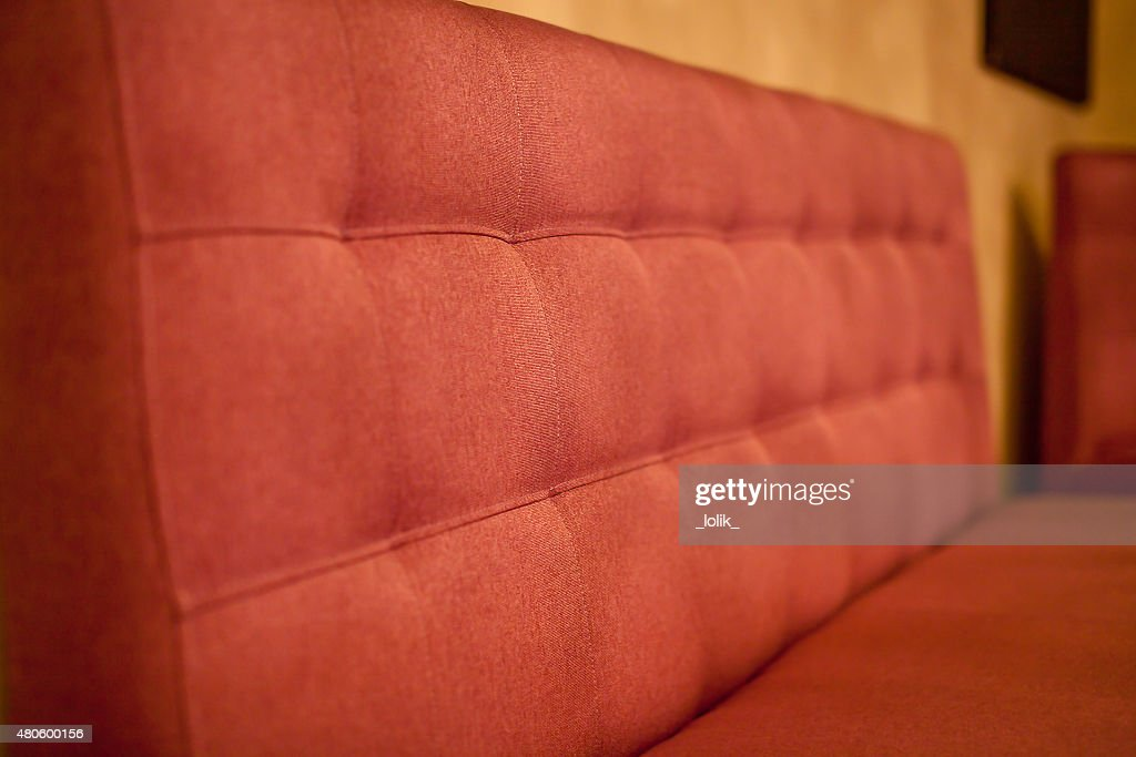 Red Sofa : Stock Photo