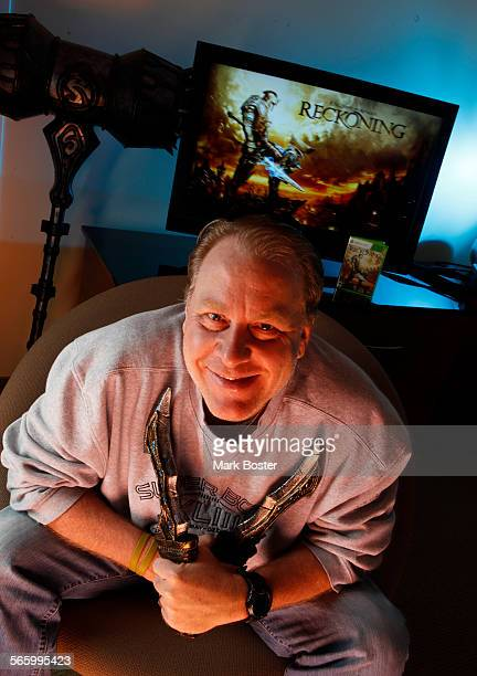 Red Sox baseball legend Curt Schilling isn't pitching curve balls anymore but he is pitching his new video game Kingdoms of Amalur Reckoning January...