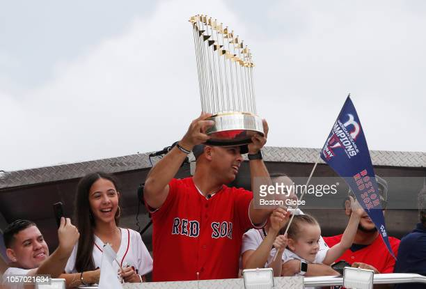 Red Sox manager Alex Cora returns to his hometown with the World Series trophy Red Sox manager Alex Cora and some players took the World Series...