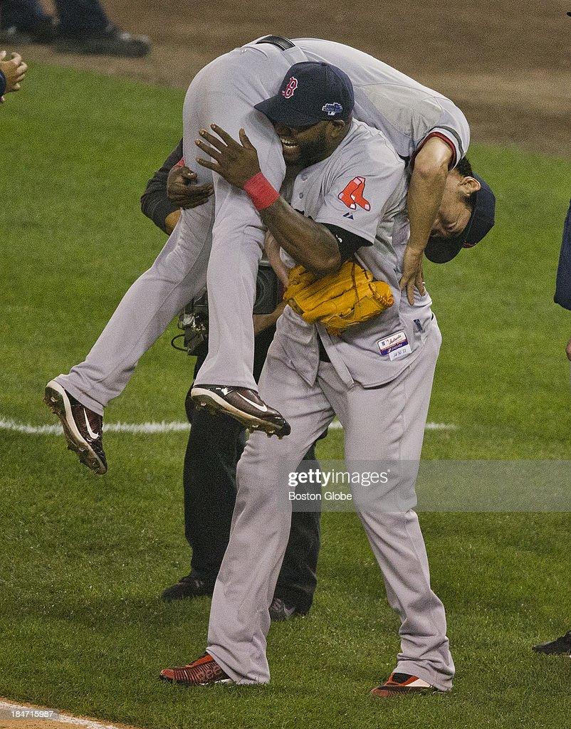 ALCS Game 3: Boston Red Sox Vs. Detroit Tigers At Comerica Park : News Photo