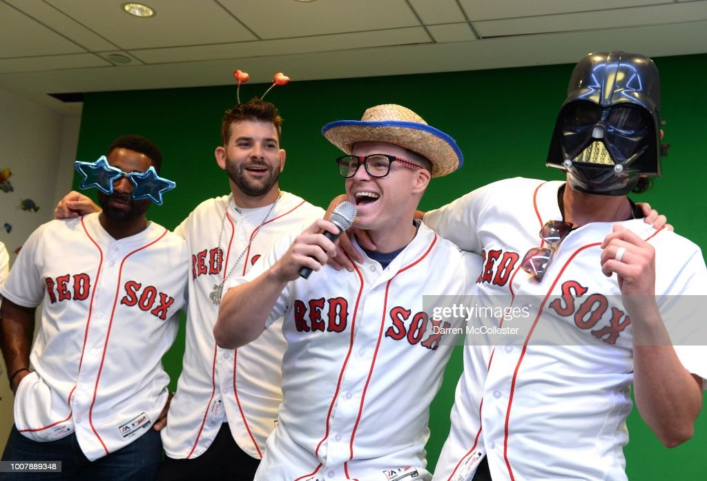 Mitch And Susannah Moreland Help Boston Children's Hospital Celebrate Christmas In July