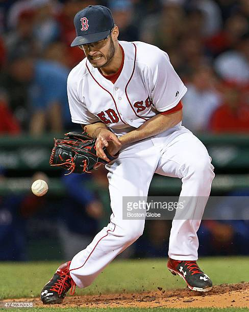 Red Sox starting pitcher Joe Kelly had a shot off the bat of the Rangers ShinSoo Choo come right at him in the fifth inning the ball bounced off of...