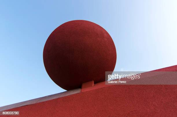 A Red Sphere