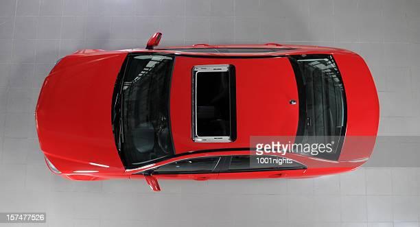 Rot Sportwagen