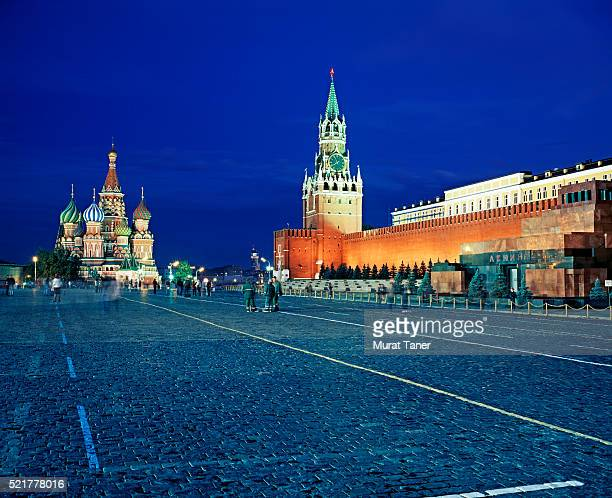 red square in moscow - red square stock pictures, royalty-free photos & images