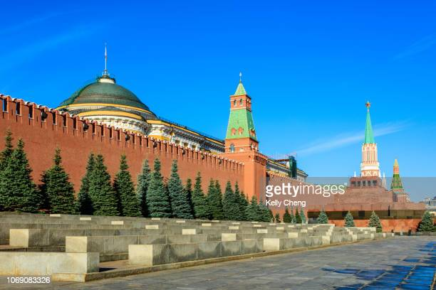 red square, moscow - kremlin stock pictures, royalty-free photos & images