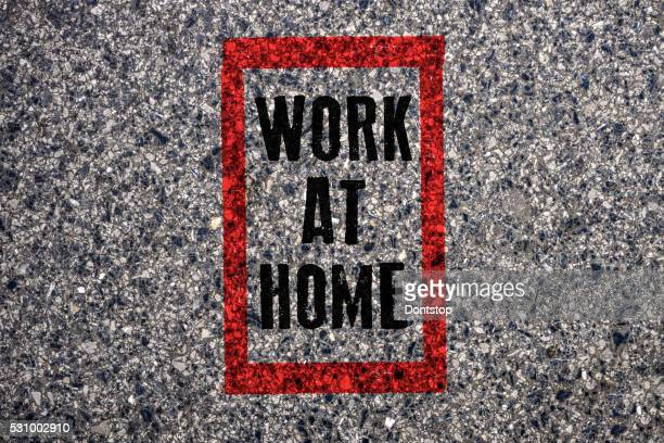 Red Stamp - Work At Home