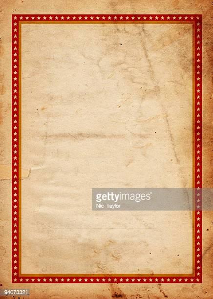 Red Star Frame Paper XXXL