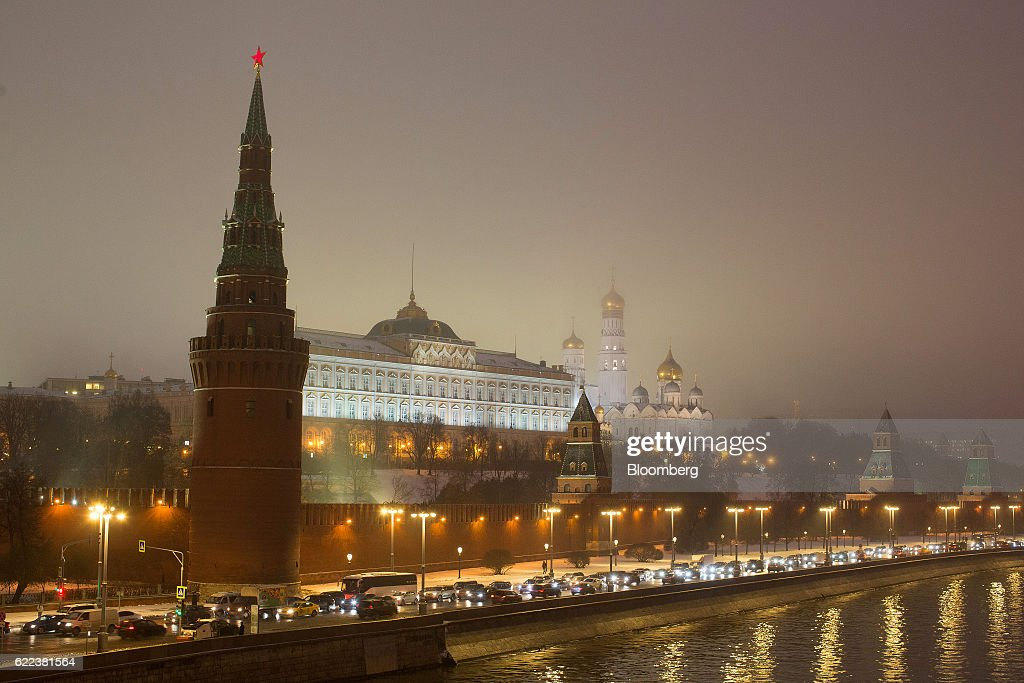 Moscow's Kremlin Complex And City Views : News Photo