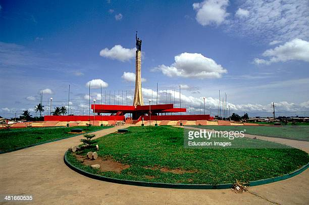 Red Star Square in Cotonou Benin West Africa