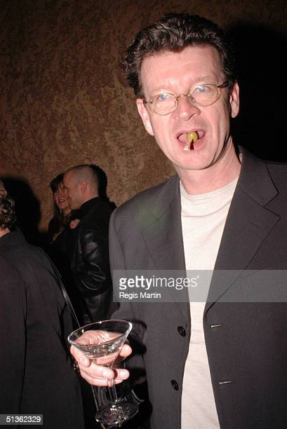 23/08/02 Red Symons at the opening night party of 'The Witches Of Eastwick' At the Plaza Ballroom in Melbourne Victoria Australia