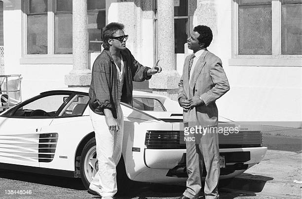 VICE 'Red Tape' Episode 19 Air Date Pictured Don Johnson as Detective James 'Sonny' Crockett Philip Michael Thomas as Detective Ricardo 'Rico' Tubbs