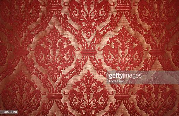 Red tapestry background