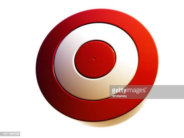 red target render