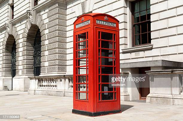 red telephone box london - telephone box stock pictures, royalty-free photos & images