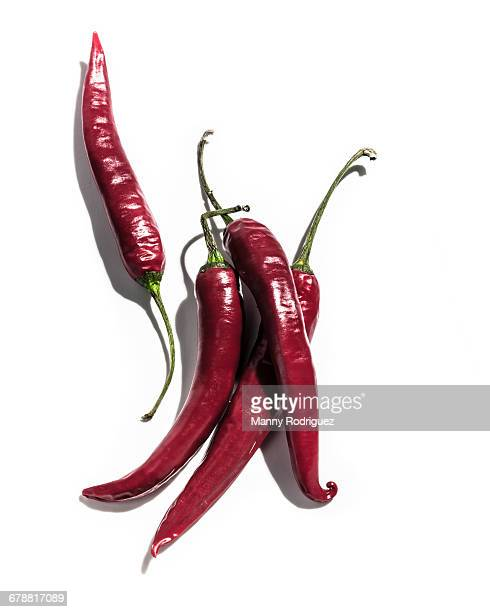 Red Thai peppers
