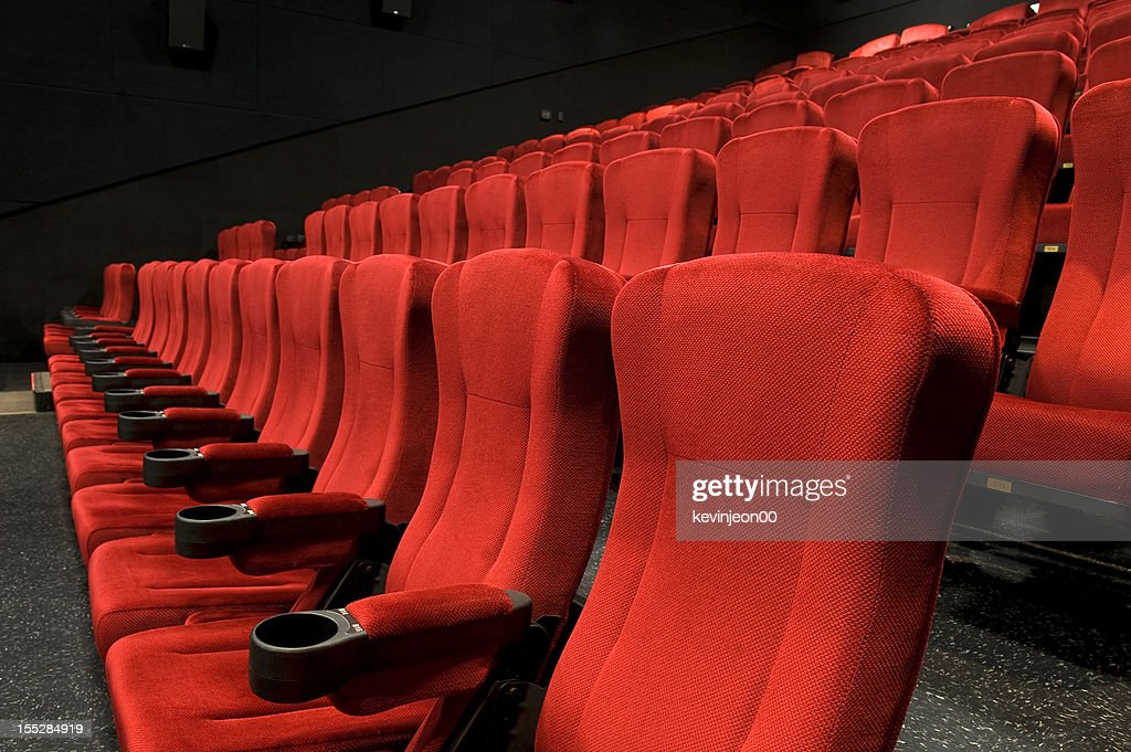 Red theatre seats stock photo getty images red theatre seats stock photo freerunsca Gallery