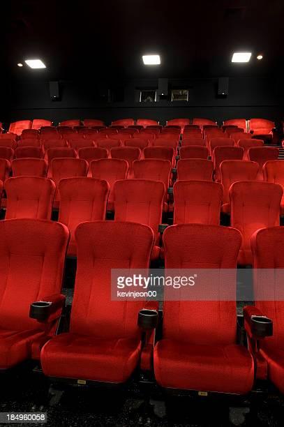 Theater rote Sitze
