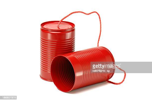 Red Tin Dosen Telefon