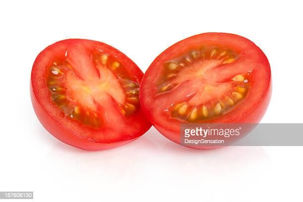 Red Tomato - cut in half (Macro XXXL)