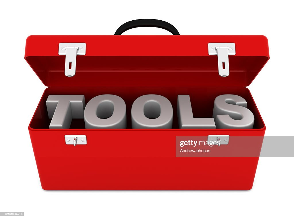 Red Toolbox : Stockfoto