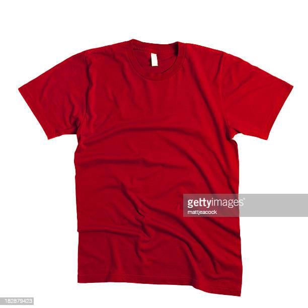 レッドの T シャツ