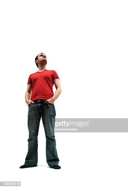 Tee-Shirt rouge Posture