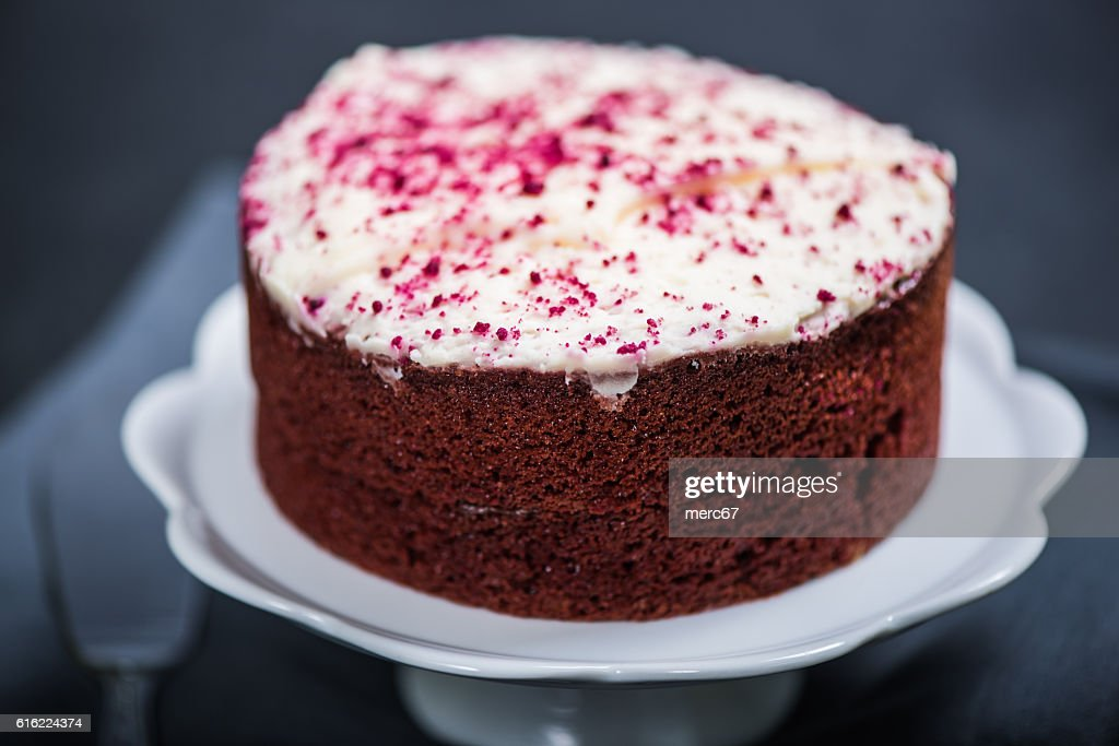 Gâteau Red velvet  : Photo