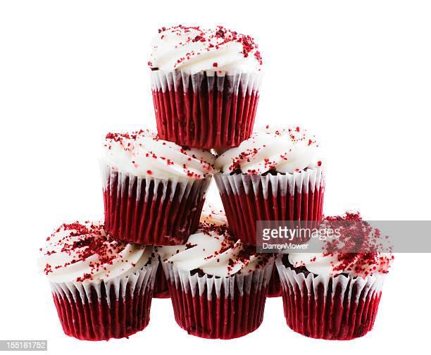 Red Velvet Cupcake Stack