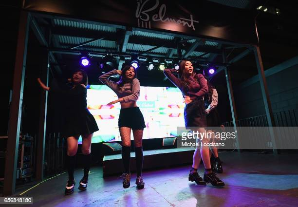 Red Velvet performs at KPop Night Out during 2017 SXSW Conference and Festivals at The Belmont on March 17 2017 in Austin Texas