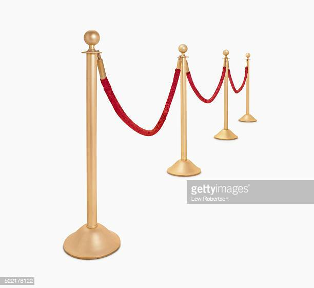 red velvet rope - cordon boundary stock pictures, royalty-free photos & images