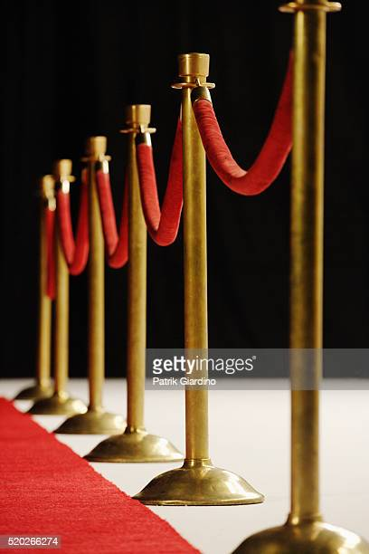 red velvet ropes - roped off stock pictures, royalty-free photos & images