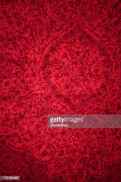 Red Vintage Abstract Background